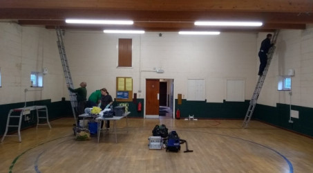 The Scout Hut gets a Makeover