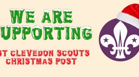 1st Clevedon Scouts Christmas Post 2017