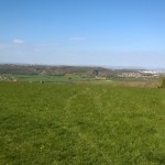 Picture of the rolling countryside near Cadbury Camp during a Beaver sleepover