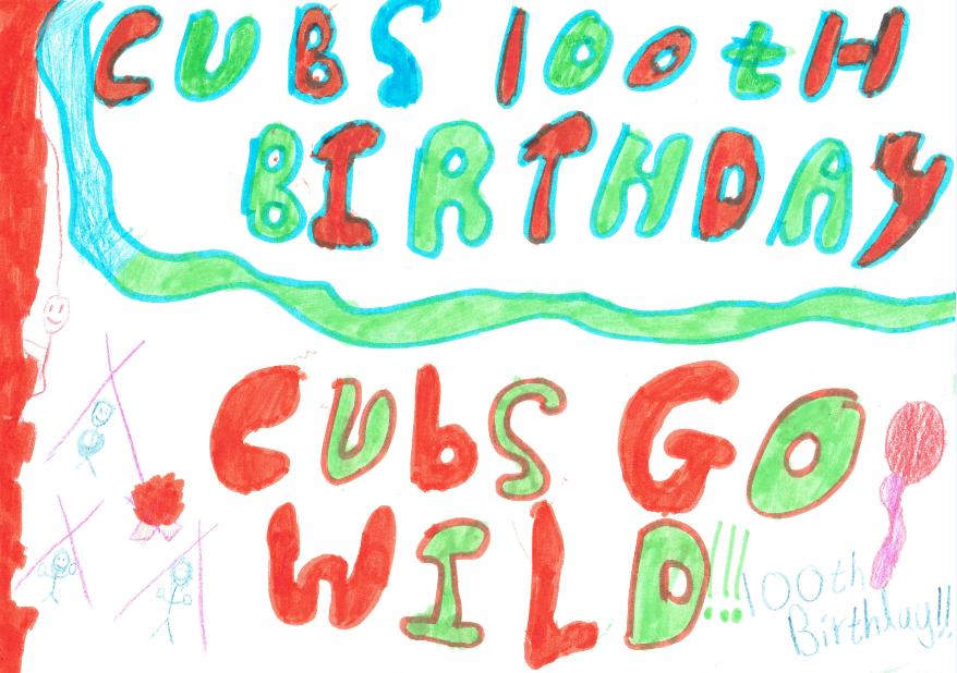 Cubs 100 Poster 01