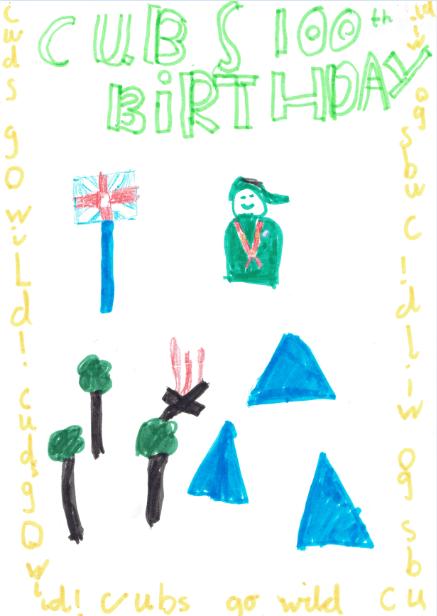 Cubs 100 Poster 02