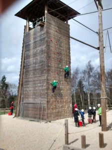 The Climbing Wall